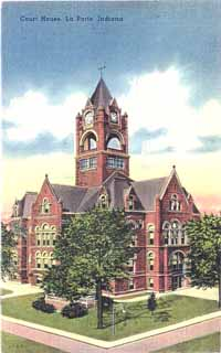 Lincoln highway association the traveler fall 2001 for Laporte indiana courthouse