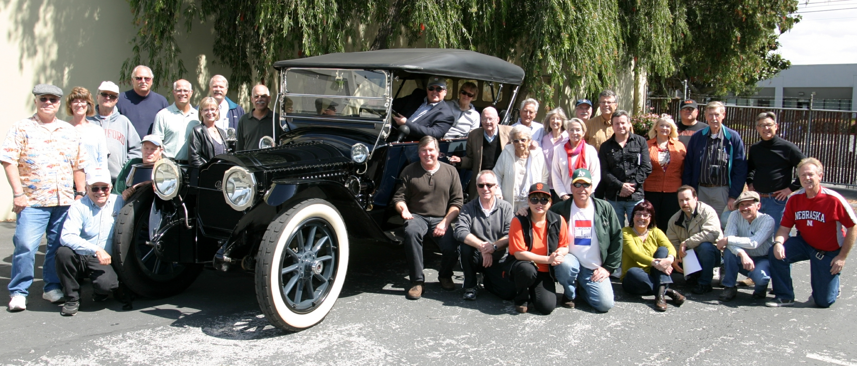 Lincoln Highway Association 2013 Tour Cars