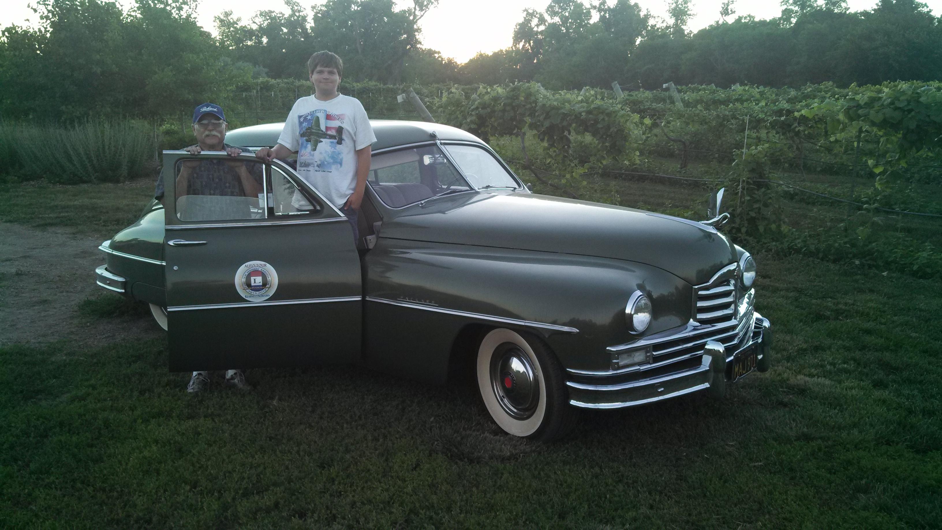 Packard Super Touring Sedan Vacaville California